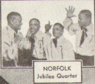 Norfolk Jazz & Jubilee Quartet(ノーフォーク・ジャズ&ジュビリー・カルテット)
