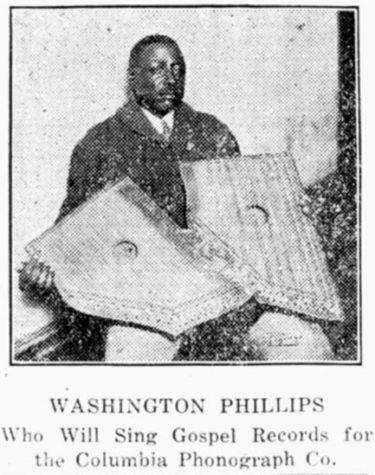 Washington Phillips(ワシントン・フィリップス)