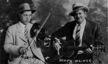 G.B. Grayson and Henry Whitter(G.B.グレイソン&ヘンリー・ウィッター)